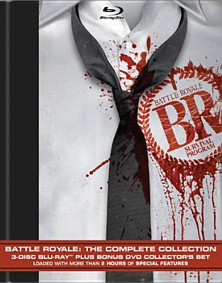 BATTLE ROYALE:COMPLETE COLLECTION BY TAKESHI,BEAT (Blu-Ray)